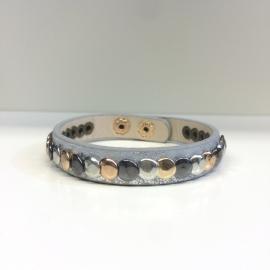 Grey Studs Bracelet
