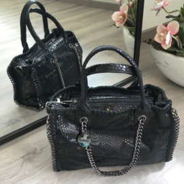 Chain Black Bag - Giuliano