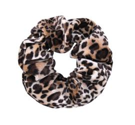 Scrunchie velvet Leopard