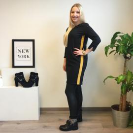 EVI Dress Yellow Stripe