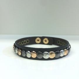 Black Studs Bracelet