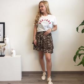 Leopard Skirt