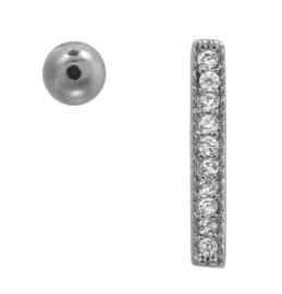 Oorbellen Silver Combination