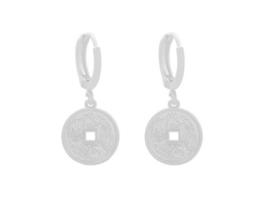 Oorbellen Coin Silver