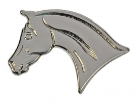 Lapel Pin Silver horse head