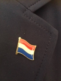 Lapel pin Dutch flag