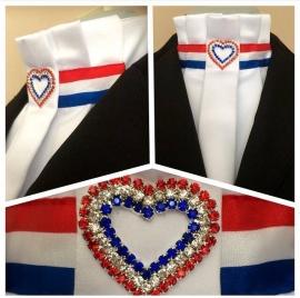 Stock-tie Dutch Heart