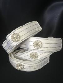 Bandage straps White /silver