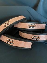 Bandage bandjes Rosegold Swarovski