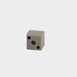 B 20 Blindverbinding voor koker 20x20x1,5mm.