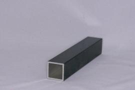 Aluminium koker 20x20x1,5mm. Lengte 199 cm.