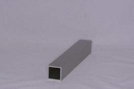 Aluminium koker 20x20x1,5 mm. Lengte 99 cm.