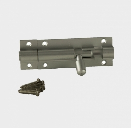 GR A Aluminium Grendel inclusief rvs schroefjes.