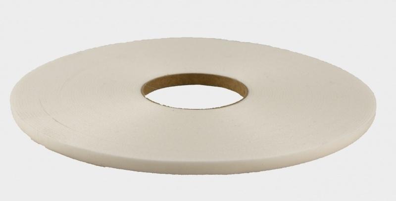 ZKW zelfklevend glasband wit. lengte 25 meter.