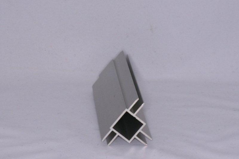 45 D 3 Aluminium koker met 3 profielen 4,5mm. Lengte 99 cm.