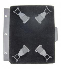 """Inhang tablet houder voor ringmechaniek 7"""" t/m 8"""""""