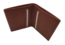 Card holder in apple leather