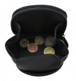 Kleingeldbeurs met rits