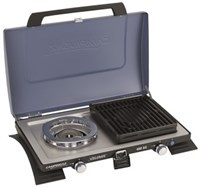 Campingaz 2-pits komfoor met grill 400SG