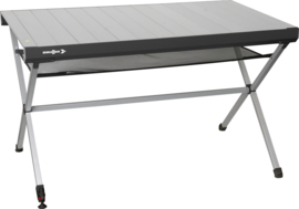 BRUNNER tafel Titanium Axia 4 aluminium lichtgrijs