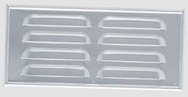 standaard kieuwplaat geanodiseerd aluminium (25,5 cm x 11,5 cm)