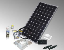 solarset 100watt voor camper/caravan