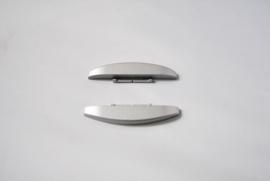 Kapjes voor zijkant bedieningspaneel (platinum)