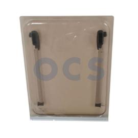 Dometic S3 Openslaand Raam Acrylglas Bruin