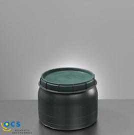 Wijdhalsvat 25L, 40L of 60 liter  inclusief deksel
