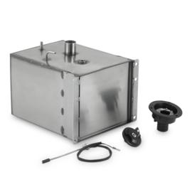 DOMETISCHE gastank 20 l staal naar generator