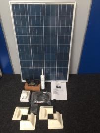 Victron 100 watt Polycrystalline classA zonnepaneel, complete set