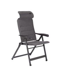 CRESPO Opklapbare fauteuil Compact grijs