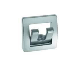 standaard kapstok, opvouwbaar zilver 2 - tands