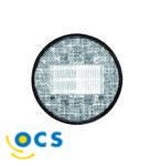 JokonAchteruitrijlicht LED rond wit glas