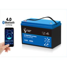 Ultimatron LiFePO4 12,8V 100Ah smart Bms 1280Wh (1305Wh)