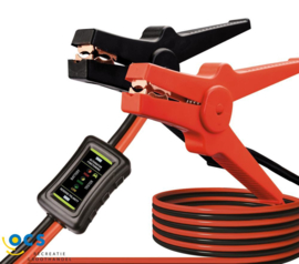Enduro Startkabelset incl. accutester/booster cables incl. battery tester