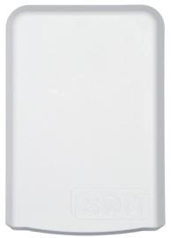 Filterhuis voor variant ventilatiedeur toilet (wit)