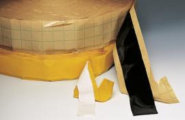 Teroson afdichtingstape RB 81 permanent elastisch (terostat tape) zwart
