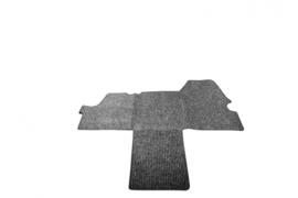 Antraciet naaldvilt tapijt voor Hymer Geïntergreerd mobiel