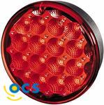 Mistachterlicht Rond Rood LED