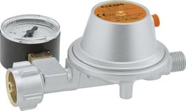 OK Lagedrukregelaar type EN61 50 mbar 1,5 kg / h met manometer