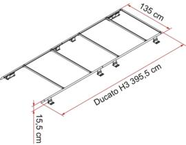 FIAMMA dakdrager Roof Rail Ducato H3, (vanaf 06/2006)