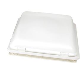 FIAMMA dakluik Turob Vent Premium 40 x 40 met aanraakbediening wit