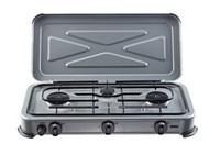 Gimeg kooktoestel 3-pits grijs