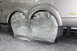 HINDERMANN Reflex beschermhoes met zonnereflectie (tandem 155 cm lang)