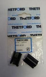 Thetford Lock Clip koelkastrooster zwart