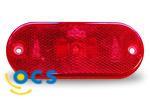 JokonZijlicht ovaal rood