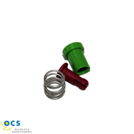 Indicator rood/groen voor AKS 1300