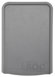 Filterhuis voor variant ventilatiedeur toilet (donkergrijs)