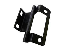 standaard scharnier staal gepolijst 4 stuks 51 mm x 19 mm x 9 mm